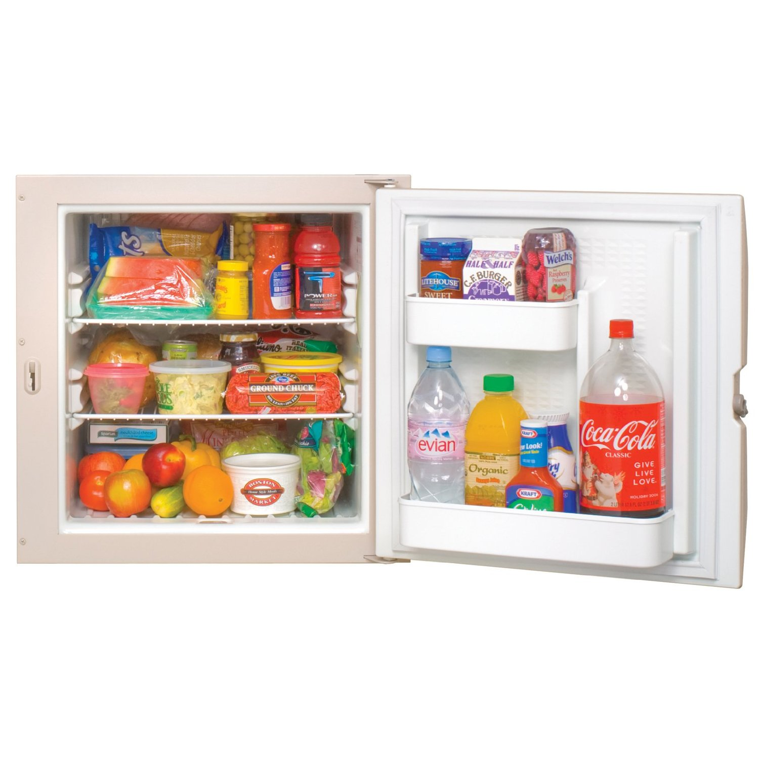 Norcold N260.3R 2.4 cu. ft. 1 Door Refrigerator (3-Way AC/LP/DC, Right Hand Door)